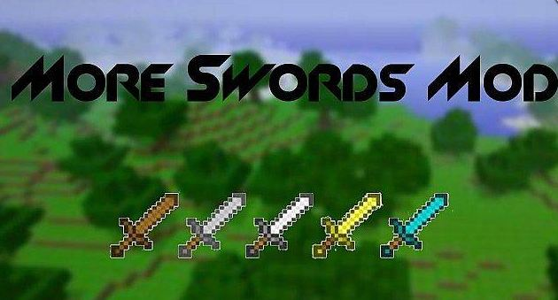 Мод more swords mod для minecraft 1 4 7